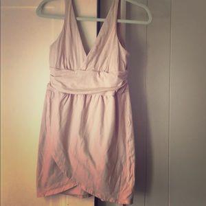 Victoria secret light pink bra top dress